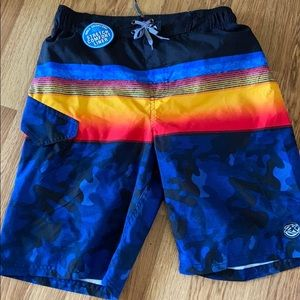 Boys swim trunks zero xposur